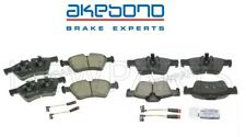 For Mercedes Benz W164 W251 W463 Front & Rear Disc Brake Pad Set Akebono Euro