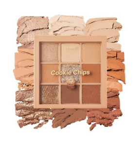 [Etude House] Play Color Eyes_Cookie Chips_Eye Palette_0.8g * 9