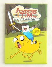 Adventure Time Finn Riding Jake Magnet Licensed Hot Properties New