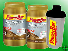 (17,31€/kg)   2 Dosen PowerBar Recovery Drink a 1210g + Mix Shaker