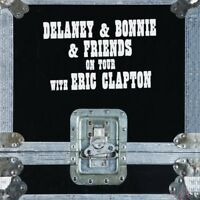 DELANEY & BONNIE - ON TOUR WITH ERIC CLAPTON  4 CD NEUF