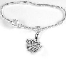Crown Bracelet Crown Gift Crown Bangle Princess Jewelry Crown charm Bracelet