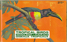 BROOKE BOND CANADA - RARE ALBUM + SET OF 48  TROPICAL  BIRDS  CARDS  - 1964