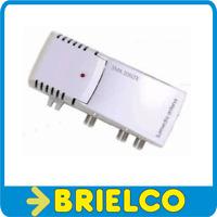 AMPLIFICADOR INTERIOR ANTENA 220V 2 SALIDAS GANANCIA 20DB FILTRO LTE 4G BD10642