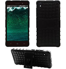 Reliance Lyf Water 5 - Defender Armor Heavy Hybried Dual layer stand Case cover