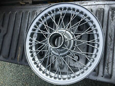 MG TF Naylor Wire Wheels  -  TUDOR WHEELS  CLASSIC WHEEL REFURBISHMENT