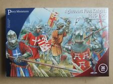 Agincourt FOOT KNIGHTS - 28mm (Perry Miniatures) - Plate Armour - 8 MODELS