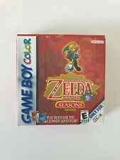 GAME BOY GAMEBOY COLOR GBC BOXED BOITE LEGEND OF ZELDA ORACLE OF THE SEASONS USA
