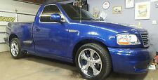 TOUCH UP PAINT FOR FORD LIGHTNING COLOR CODE SN SONIC BLUE ..1 OZ. SIZE.####