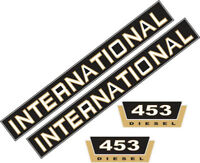 453 Decal Set Stickers for International 453 IHC, Tractor, Tractor