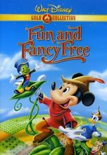 Walt Disney Fun and Fancy Free DVD, Gold Classic Collection Edition