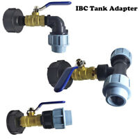 IBC Water Tank Outlet Fitting/Connector/Adapter S60X6 With Range Of Tap Outlets