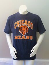 Chicago Bears Shirt (VTG) - Classic Logo with Arch Wording - Men's Large