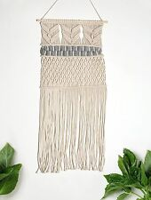 Handmade Macrame Wall Hanging Woven Wall Art Boho Wall Decor Textile Tapestry