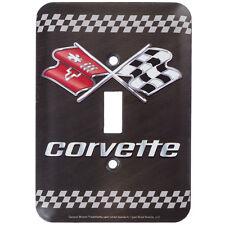 TWO Corvette Single Switch Plate. Sport Cars.