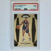 2017 Kyle Kuzma Panini Prizm #283 Rookie RC  PSA 9 Mint Card LA Lakers NBA Champ