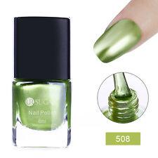 6ml Metallic Nail Polish Mirror Blue Metal Varnish Ur Sugar Manicure Decor Diy