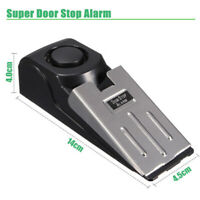 120dB Mini Door Stopper Alarm Alertor Wedge Anti Burglar Warning Security Beeper