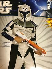 Captain Rex Star Wars Clone Trooper Halloween Child Costume L