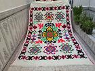 Moroccan Vintage Handmade Berber Wool Carpet Azilal Tribal Rug 6.43 x 9.97 ft
