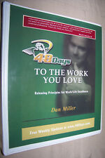 48 Days to the Work You Love - Dan Miller Interactive Study Course Set w/Cd's