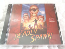 THE DEADLY SPAWN DELUXE EDITION CD NEW HORROR SOUNDTRACK MICHAEL PERILSTEIN