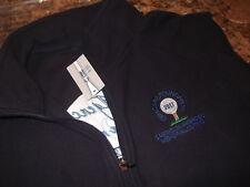 New Lands' End Soft Fleece Full Zipper Vest - Xl - Nice Logos - Top Quality