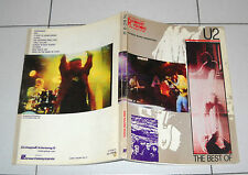 Spartiti Songbook THE BEST OF U2  - Tab guitar Vocal chords Bono Vox spartito
