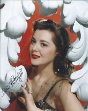 Ann Rutherford Gone With The Wind autographed 8x10 photo with COA by CHA