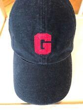 Vtg Gap Hat G Kids Girls Boys Black 100% Cotton S/M Adjustable Cap Baseball Red