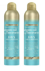 2,PACK OGX REFRESH AND REVITALIZE ARGAN OIL  MOROCCO DRY SHAMPOO TRAVEL SIZE