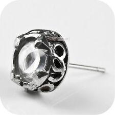 Crystal Stainless Steel Earrings & Studs for Men