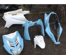 YAMAHA AEROX R NS50 Fairings FRONT PANEL, REAR SIDE BELLY BABY BLUE WHITE 50CC