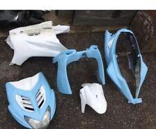 Yamaha Aerox R NS50 carenados panel frontal, traseros laterales del vientre Bebé Azul Blanco 50CC
