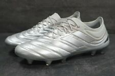 Adidas Copa 20.1 FG EF8316 Soccer Cleats Football Shoes Boots Sz 10 Silver White