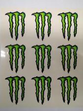 Stickers Pegatinas Monster Energy Pack 9 adhesivos 16x14 cm en total KUM 158250