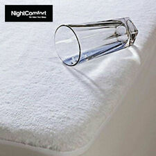 Waterproof Terry Towel Mattress Protector Extra Deep Non-Allergenic