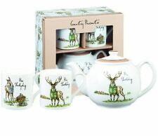 Bone China Animal Print Teapots