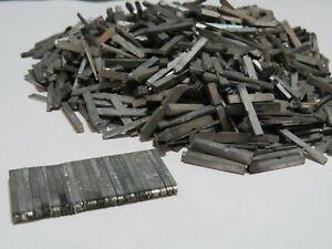 Job lot of 1100 + vintage metal type set printers letters lower case