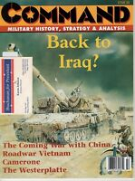 Command Magazine #50 September 1998  Back to Iraq? Speculations on Gulf War II