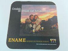 Beer Bar Coaster ~ Roman Ename Blond Ale <> Oudenaarde, Oost-Vlaanderen, Belgium