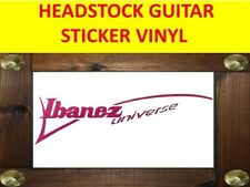 IBANE UNIVERSE MAGENTA SEVEN STRINGS STICKER VINYL VISIT OUR STORE WITH + MODELS