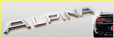NEW STYLE BMW Chrome Alpina Trunk Badge Rear Emblem Back Boot Logo F01 F06