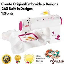 Elna Air Artist Embroidery Machine - White