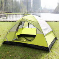 2/6 Person Camping Tent Waterproof Outdoor 4 Season Travel Hiking Shelter Canopy