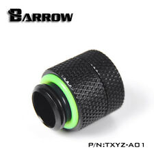 "Barrow G1/4"" Matte Black Rotary Anti-Twist 15mm Extender - 021"
