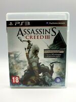Jeu PS3 assassin's creed 3 playstaion 3 complet