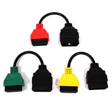 Cable adaptador de conector OBD II a Fiat Alfa-Romeo para FiatECUscan kit 3