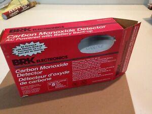 BRK Electronics Carbon Monoxide Detector AC Powered w/ Battery Backup FREE SHIP!