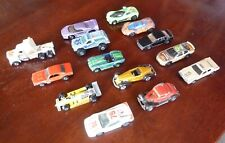 1977 to 1998 Mattel Hot Wheels Miniature Cars Lot of 14